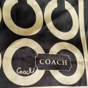 Coach large scarf 35 x 35